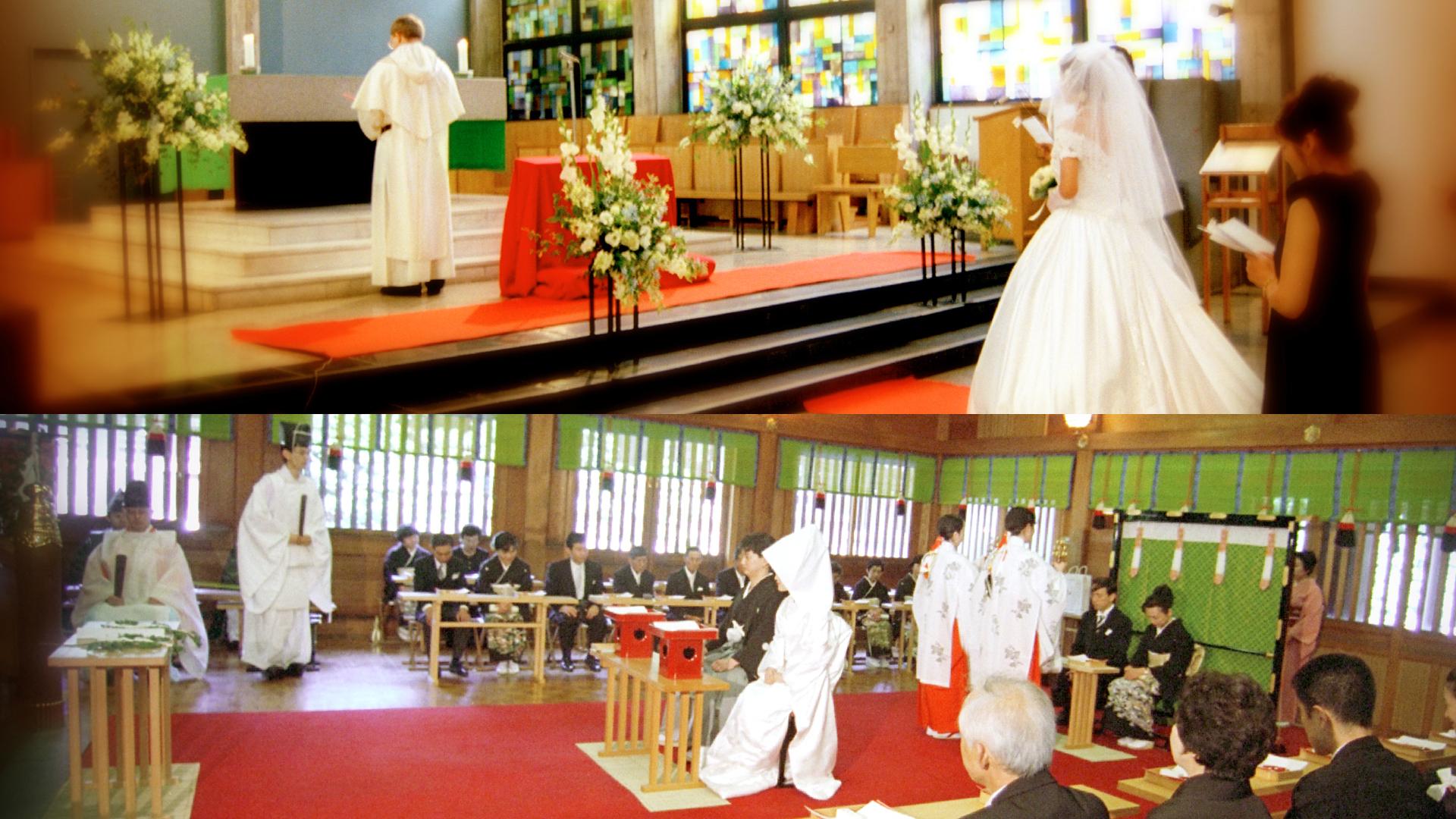 神社・教会での結婚式